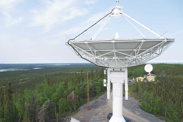 Inuvik Satellite Station