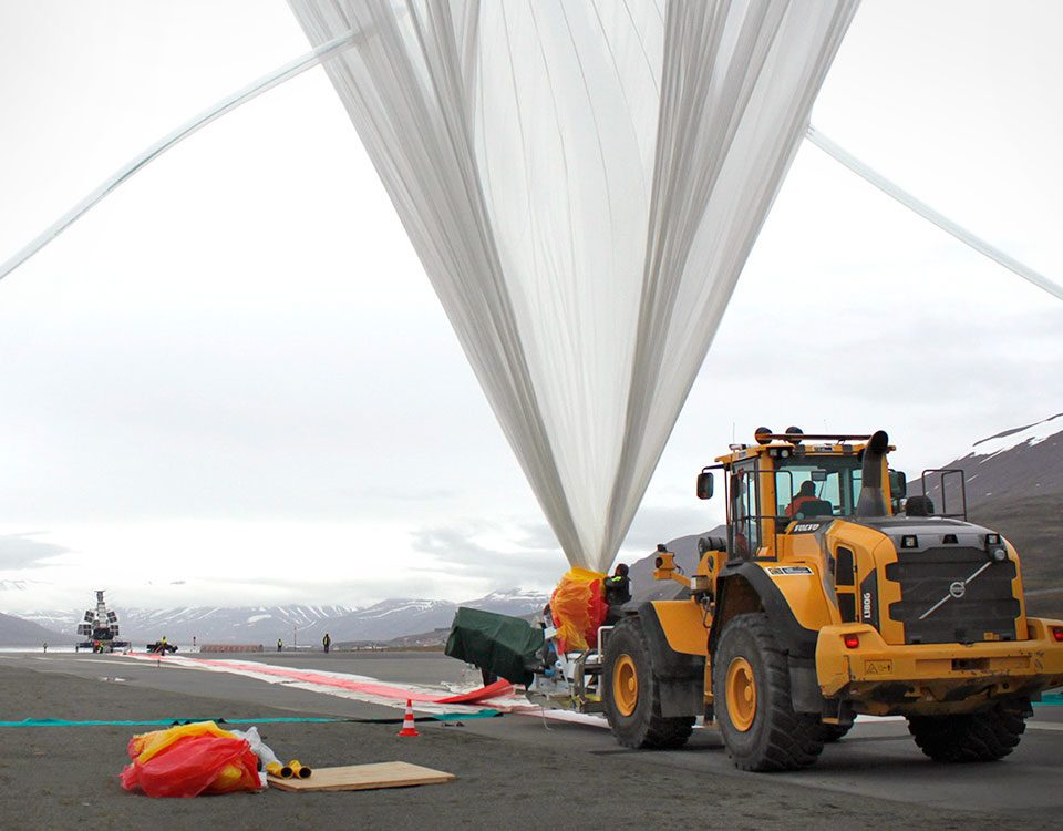 OLIMPO balloon launch