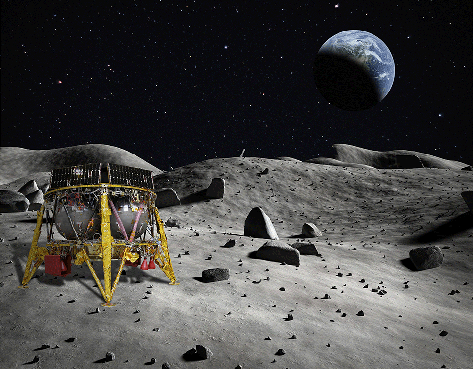 SpaceIL Moon lander