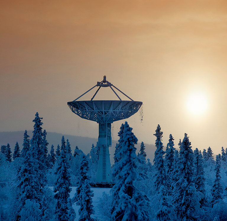 Antenna in Sunset